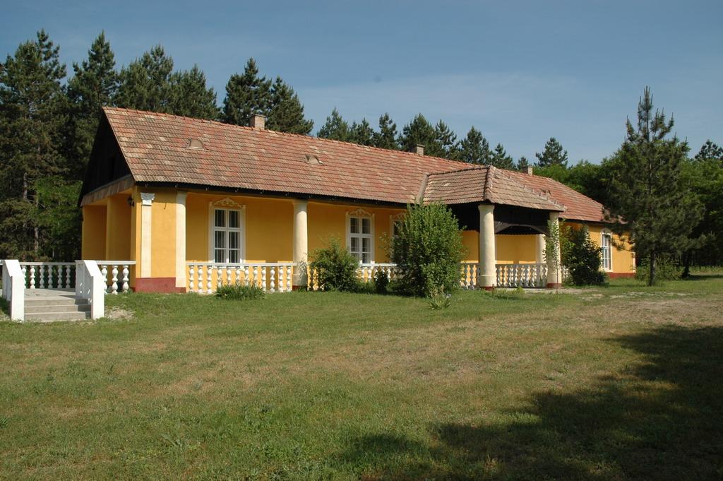 Eladó 250 m2-es Barcsay kúria Ladánybenén 6219 m2-es birtokkal